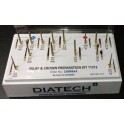 INLAY AND CROWN PREPARATION KIT DIATECH