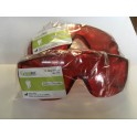 Safety Glasses Red Color