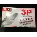 Gloves Latex Examination Powdered 3P