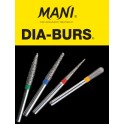 Diamond Burs Mani PK/5