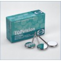 Mouth Mirror TOPvision Rodium Surface pk/12