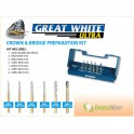 Great White Ultra Crown & Bridge Preparation Kit 18150
